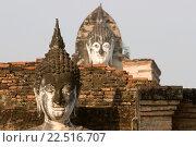 Купить «Buddha statues Sukhothai historic temples site Thailand.», фото № 22516707, снято 10 февраля 2007 г. (c) age Fotostock / Фотобанк Лори