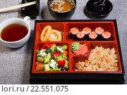 Купить «Японский ланч», фото № 22551075, снято 21 августа 2019 г. (c) Михаил Валеев / Фотобанк Лори