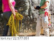 Купить «Equipment of adventurers», фото № 22577051, снято 9 февраля 2016 г. (c) Wavebreak Media / Фотобанк Лори