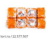 Купить «Японские роллы», фото № 22577507, снято 9 октября 2015 г. (c) Михаил Валеев / Фотобанк Лори