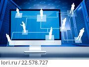 Купить «Composite image of computer screen», фото № 22578727, снято 17 октября 2018 г. (c) Wavebreak Media / Фотобанк Лори