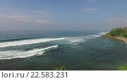 Купить «sea or ocean waves and blue sky», видеоролик № 22583231, снято 20 февраля 2016 г. (c) Syda Productions / Фотобанк Лори