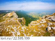 Купить «upland landscape in summer day. Navarre», фото № 22595199, снято 19 января 2019 г. (c) Яков Филимонов / Фотобанк Лори
