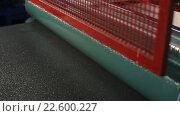 Купить «Линия для производства упаковочной ленты», видеоролик № 22600227, снято 15 октября 2015 г. (c) Виктор Аллин / Фотобанк Лори