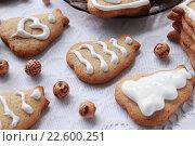 Имбирное печенье. Стоковое фото, фотограф Маргарита Варенникова / Фотобанк Лори
