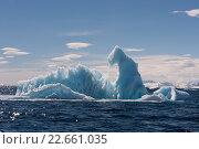 Айсберги в Антарктиде. Стоковое фото, фотограф Vladimir / Фотобанк Лори