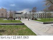 Купить «Хитровская площадь, Москва», эксклюзивное фото № 22661063, снято 20 апреля 2016 г. (c) Алексей Гусев / Фотобанк Лори