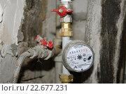 Купить «Счетчик воды», фото № 22677231, снято 3 сентября 2006 г. (c) Андрей Забродин / Фотобанк Лори