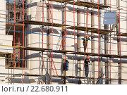 Купить «Таганская телефонная станция (Таганская АТС) МГТС. Подготовка к сносу здания», фото № 22680911, снято 23 апреля 2016 г. (c) Ольга Шуклина / Фотобанк Лори