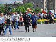 Купить «Ветераны Великой Отечественной войны в День Победы 9 Мая 2009 года», эксклюзивное фото № 22697031, снято 9 мая 2009 г. (c) lana1501 / Фотобанк Лори