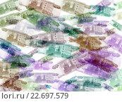 Купить «Деньги. Абстрактный фон из тысячных купюр», иллюстрация № 22697579 (c) Варенов Александр Владимирович / Фотобанк Лори