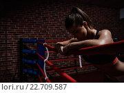 Купить «Sports», фото № 22709587, снято 22 октября 2015 г. (c) Raev Denis / Фотобанк Лори