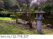 Японский сад весной (2016 год). Редакционное фото, фотограф Людмила Герасимова / Фотобанк Лори
