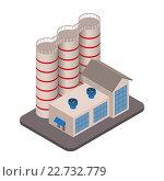 Купить «Модель заводского корпуса», иллюстрация № 22732779 (c) Николай Кувшинов / Фотобанк Лори