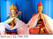 Купить «Shedrub Choekhor Ling monastery. Green Tara and Atisha Dipamkara Shrijnana.», фото № 22744191, снято 18 января 2019 г. (c) age Fotostock / Фотобанк Лори