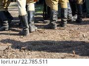 Кирзовые сапоги. Стоковое фото, фотограф Юдин Владимир / Фотобанк Лори