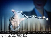 Купить «Analyzing sales data», фото № 22786127, снято 16 сентября 2012 г. (c) Sergey Nivens / Фотобанк Лори
