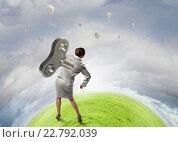 Купить «Her energy is endless», фото № 22792039, снято 29 марта 2020 г. (c) Sergey Nivens / Фотобанк Лори