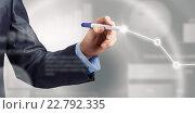 Купить «Analyzing sales data», фото № 22792335, снято 24 февраля 2011 г. (c) Sergey Nivens / Фотобанк Лори