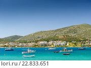 Купить «Гавань Порто Рафти, Греция», фото № 22833651, снято 26 апреля 2016 г. (c) Сергей Старуш / Фотобанк Лори