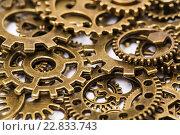 Старые металлические шестеренки. Стоковое фото, фотограф Discovod / Фотобанк Лори