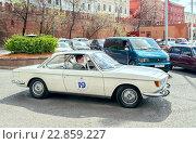 Ретро-ралли «Ингосстрах Exclusive Classic Day» в Москве. BMW 2000 CS car. (2016 год). Редакционное фото, фотограф Depth / Фотобанк Лори