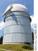 Купить «Rozhen Observatory», фото № 22866451, снято 15 июля 2020 г. (c) easy Fotostock / Фотобанк Лори