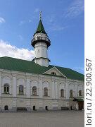 Мечеть «Аль-Марджани» в Старо-Татарской слободе весной, Казань (2016 год). Стоковое фото, фотограф Алексей Гусев / Фотобанк Лори
