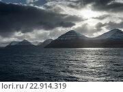Купить «Thornhaven, Denmark, overlooking the Faroe Islands Islands», фото № 22914319, снято 7 февраля 2016 г. (c) Caro Photoagency / Фотобанк Лори