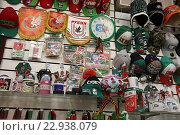 Купить «Магазин с Казанскими сувенирами», эксклюзивное фото № 22938079, снято 1 мая 2016 г. (c) Алексей Гусев / Фотобанк Лори