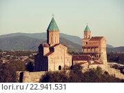 Купить «Gremi citadel and Church of the Archangels in Kakheti Georgia», фото № 22941531, снято 21 сентября 2015 г. (c) Дмитрий Калиновский / Фотобанк Лори