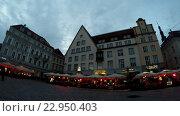Купить «Вечерний Таллин, Эстония», видеоролик № 22950403, снято 19 мая 2009 г. (c) Куликов Константин / Фотобанк Лори