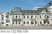 Купить «Проспект Мира, дома 39-41. Москва», фото № 22956159, снято 14 мая 2016 г. (c) Екатерина Овсянникова / Фотобанк Лори