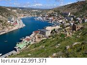Купить «Балаклава, Крым», эксклюзивное фото № 22991371, снято 21 апреля 2016 г. (c) Яна Королёва / Фотобанк Лори