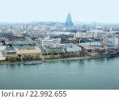 Купить «Вид на Пхеньян - столицу Северной Кореи», фото № 22992655, снято 1 января 2005 г. (c) Тупиков Максим Борисович / Фотобанк Лори
