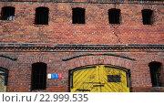 Купить «Old buildings in city of Grudziadz, Poland», видеоролик № 22999535, снято 11 декабря 2015 г. (c) BestPhotoStudio / Фотобанк Лори