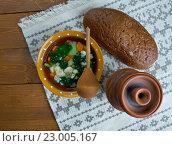 Купить «nettle soup», фото № 23005167, снято 25 мая 2016 г. (c) Александр Fanfo / Фотобанк Лори
