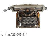 Старая пишущая машинка. Стоковое фото, фотограф Olena Kravchuk / Фотобанк Лори