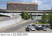 Аэропорт Шереметьево терминал F (2016 год). Редакционное фото, фотограф Александр Устинов / Фотобанк Лори