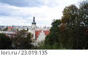 Купить «District Court in Bydgoszcz in northern Poland», видеоролик № 23019135, снято 5 ноября 2015 г. (c) BestPhotoStudio / Фотобанк Лори