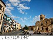 Купить «Церковь Святого Лазаря в Ларнаке. Кипр», фото № 23042447, снято 23 мая 2016 г. (c) Морозова Татьяна / Фотобанк Лори