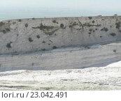 Памуккале в Турции. Стоковое фото, фотограф Фёдор Ромашов / Фотобанк Лори