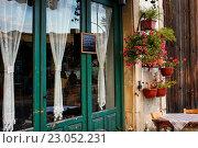 Купить «Маленькое кафе на улице Ларнаки, Кипр», фото № 23052231, снято 23 мая 2016 г. (c) Морозова Татьяна / Фотобанк Лори