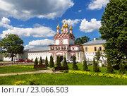 Купить «Иосифо-Волоцкий мужской монастырь», фото № 23066503, снято 30 мая 2016 г. (c) Наталья Волкова / Фотобанк Лори