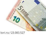 Европейский банкноты. Стоковое фото, фотограф Ольга Еремина / Фотобанк Лори