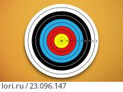 Купить «Digital image of a target», иллюстрация № 23096147 (c) Wavebreak Media / Фотобанк Лори