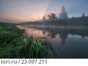 Купить «Серпухов. Высоцкий монастырь», фото № 23097211, снято 7 мая 2016 г. (c) Liseykina / Фотобанк Лори