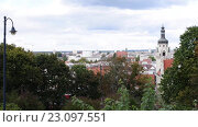 Купить «District Court in Bydgoszcz in northern Poland», видеоролик № 23097551, снято 5 ноября 2015 г. (c) BestPhotoStudio / Фотобанк Лори