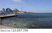 Купить «Городской пейзаж. Севастополь, Крым», видеоролик № 23097799, снято 18 апреля 2016 г. (c) Яна Королёва / Фотобанк Лори