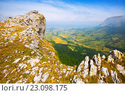 Купить «upland landscape in summer day», фото № 23098175, снято 19 января 2019 г. (c) Яков Филимонов / Фотобанк Лори